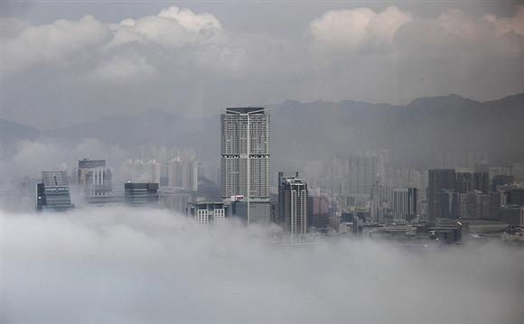 Hong Kongdan sis manzaraları... 1