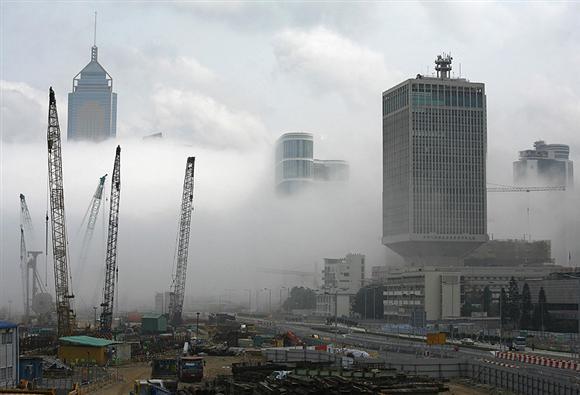 Hong Kongdan sis manzaraları... 5