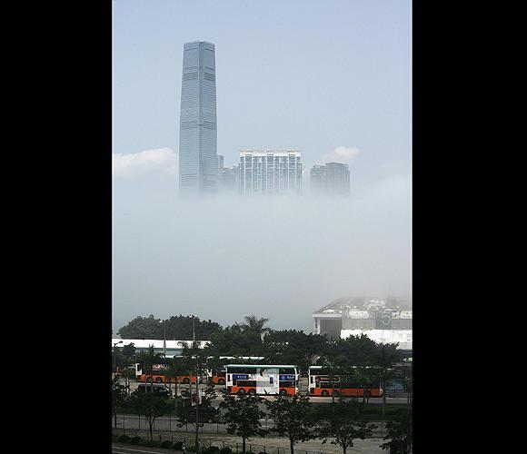 Hong Kongdan sis manzaraları... 6