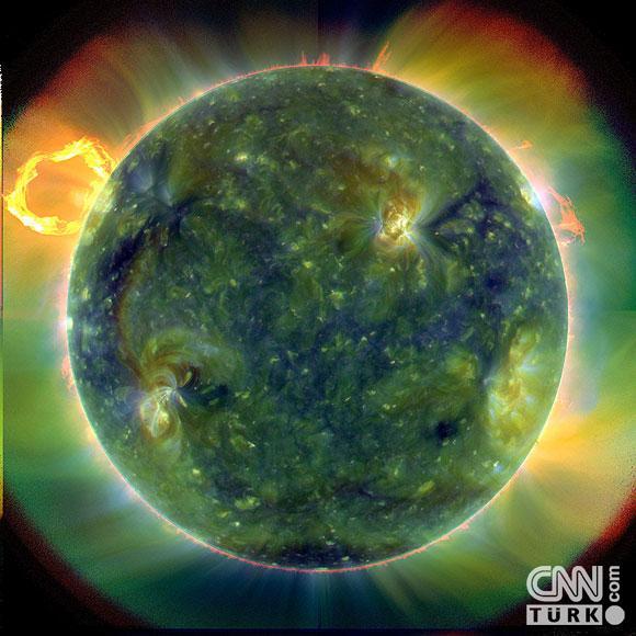 Güneşin en ayrıntılı görüntüleri elde edildi 1