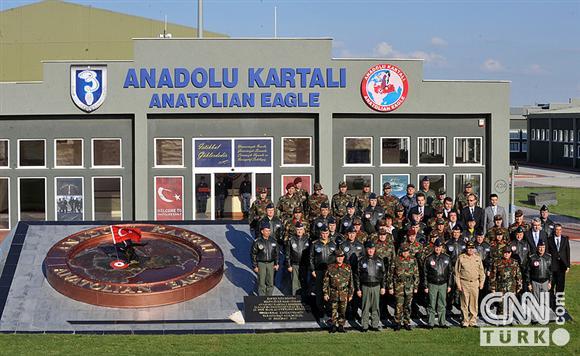 Anadolu Kartalı tatbikatından kareler 2