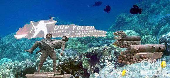 İşte bir denizaltı müzesi... 1