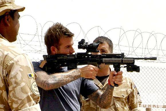Beckham Afganistana transfer oldu! 1