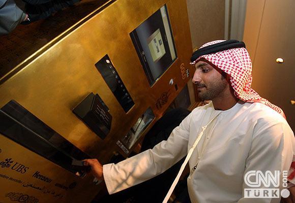 Bu ATMden altın çekiliyor 2