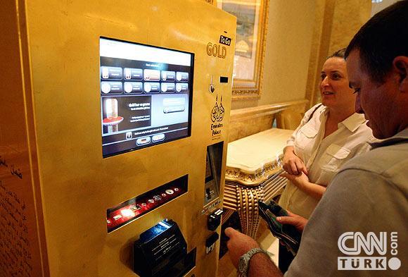 Bu ATMden altın çekiliyor 3