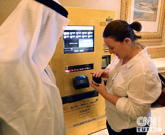 Bu ATMden altın çekiliyor 4