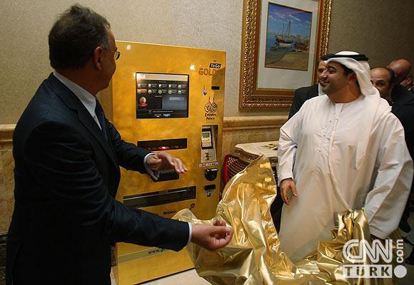 Bu ATMden altın çekiliyor 5