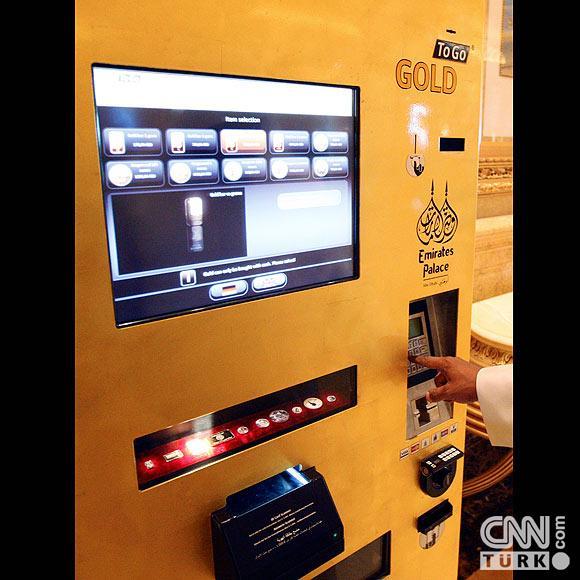 Bu ATMden altın çekiliyor 7