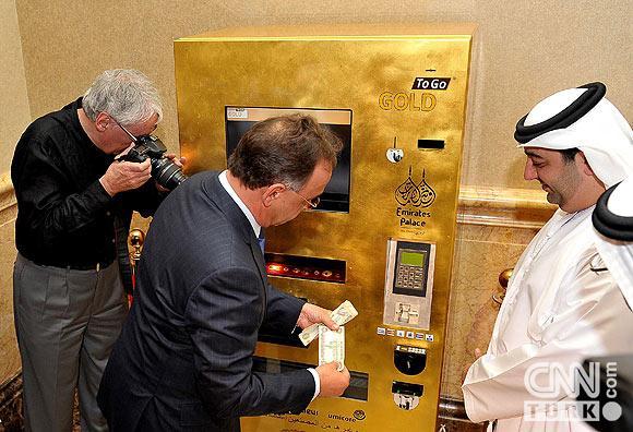 Bu ATMden altın çekiliyor 8