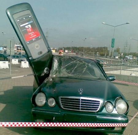 Reklamlardaki gerçek arabalar