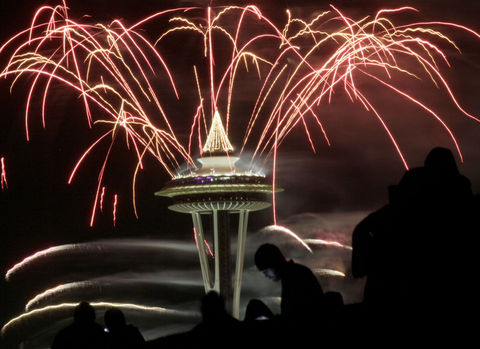 Dünya yeni yılı böyle kutladı  11