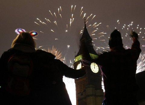 Dünya yeni yılı böyle kutladı  12
