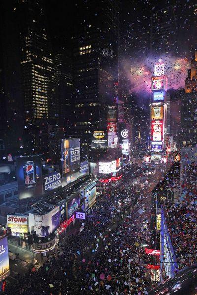 Dünya yeni yılı böyle kutladı  22
