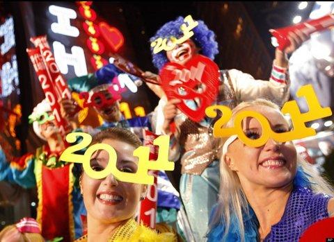 Dünya yeni yılı böyle kutladı  25