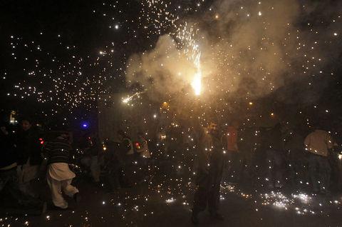 Dünya yeni yılı böyle kutladı  30