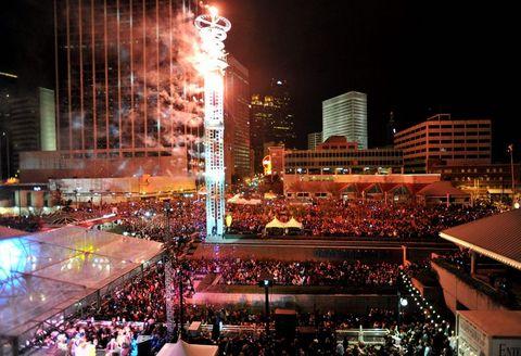 Dünya yeni yılı böyle kutladı  32