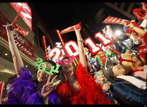 Dünya yeni yılı böyle kutladı  33