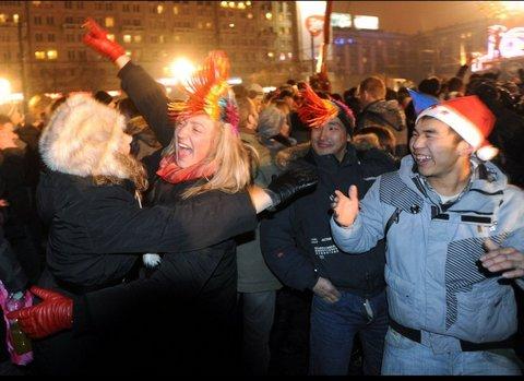 Dünya yeni yılı böyle kutladı  6