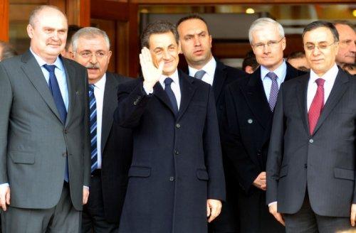 Sarkozy Ankarada