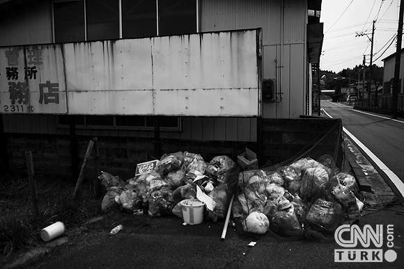 Nükleerin vurduğu hayalet Japon kasabası 8