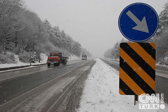 Bahar karı yurtta ulaşımı aksatıyor! 6