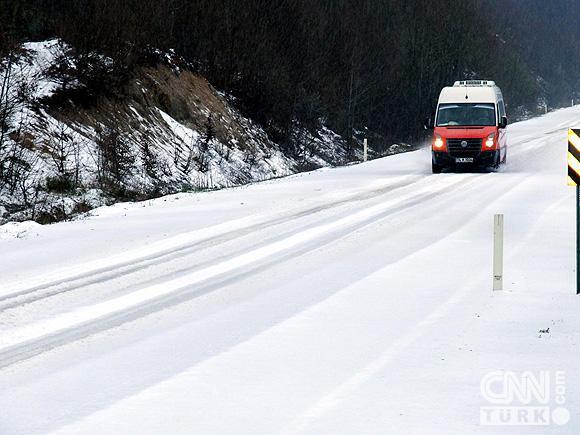 Bahar karı yurtta ulaşımı aksatıyor! 7