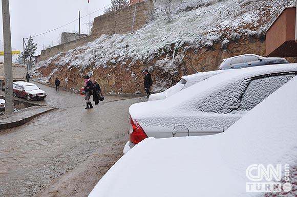 Bahar karı yurtta ulaşımı aksatıyor! 9