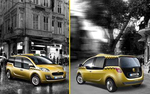 İstanbul taksisini seçiyor  9