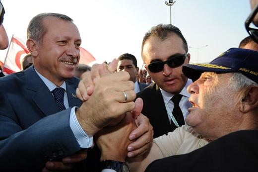 Başbakan Erdoğana Sevgi Gösterisi 10