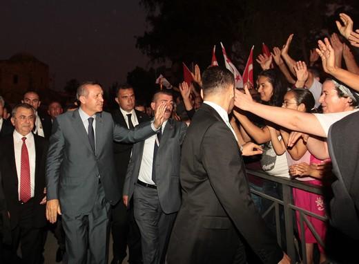 Başbakan Erdoğana Sevgi Gösterisi 2