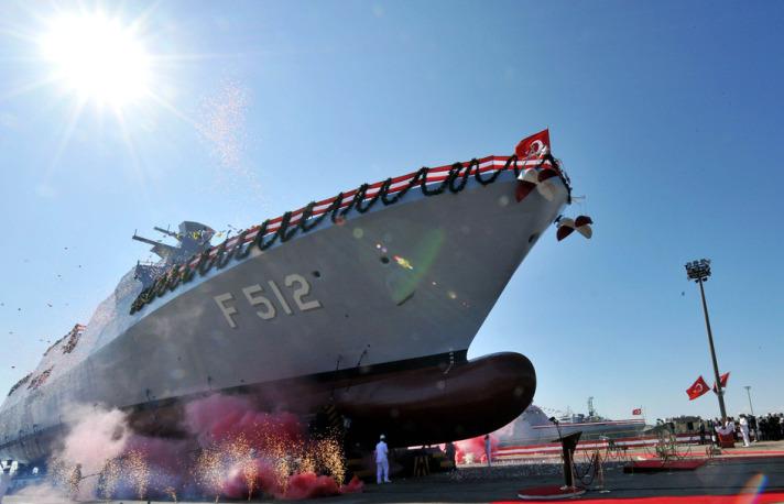 İlk Milli Savaş Gemisi Denize İndirildi 2