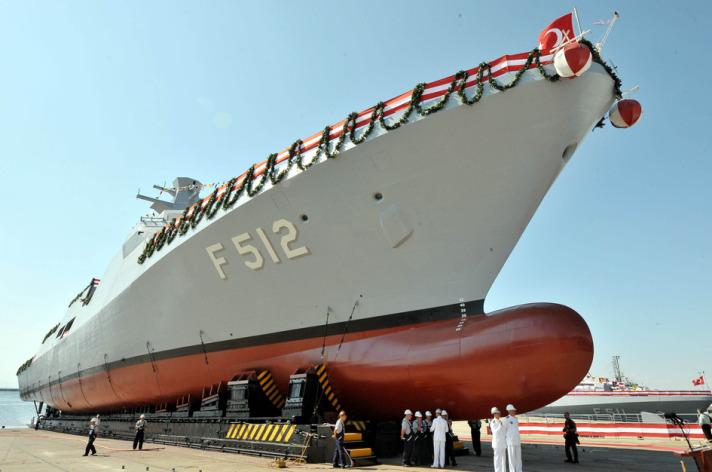 İlk Milli Savaş Gemisi Denize İndirildi 4