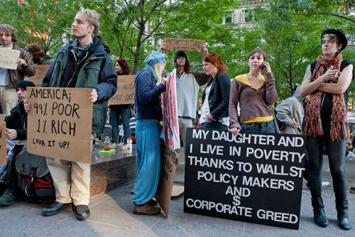 Dünya kapitalizmi protesto etti 11
