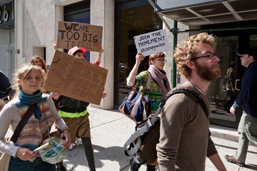 Dünya kapitalizmi protesto etti 2