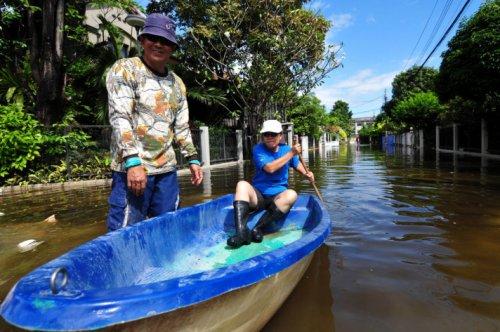 Taylandda yüzyılın en büyük doğa felaketi 14
