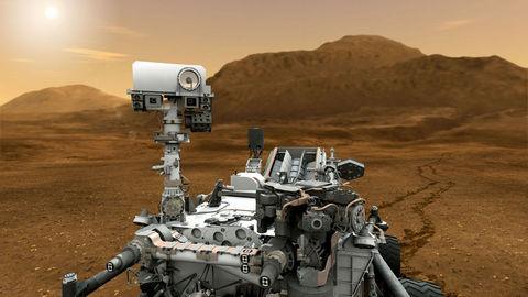Mars'ın 2.5 Milyar Dolarlık Yeni Kâşifi!  1