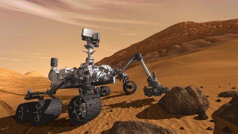 Mars'ın 2.5 Milyar Dolarlık Yeni Kâşifi!  2
