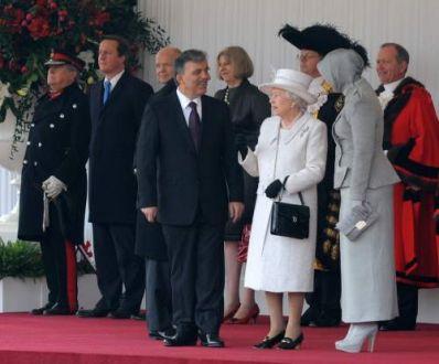 Cumhurbaşkanı Gül İngilterede  2