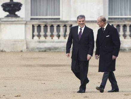 Cumhurbaşkanı Gül İngilterede  28