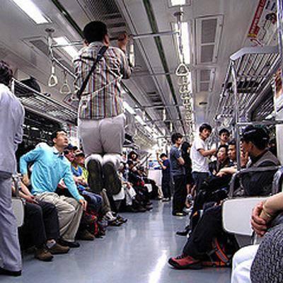 Dünya Metrolarından Güldüren Kareler 11