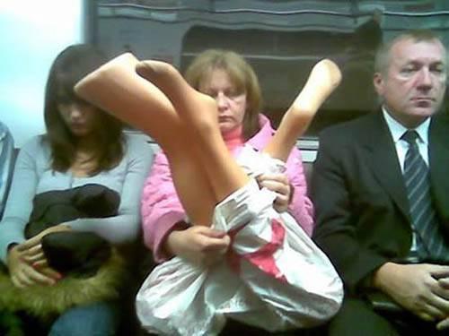 Dünya Metrolarından Güldüren Kareler 3