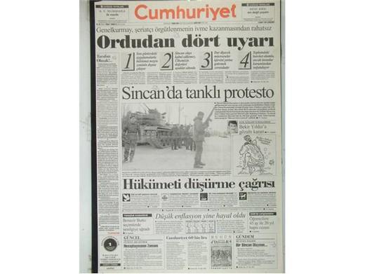 28 Şubat Medyasının Utanç Manşetleri! 36