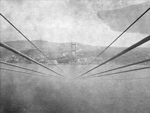 Boğaz Köprüsü Böyle Yapıldı  10