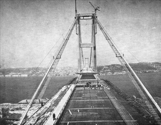 Boğaz Köprüsü Böyle Yapıldı  14