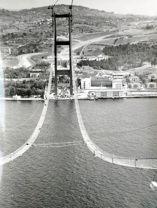 Boğaz Köprüsü Böyle Yapıldı  5