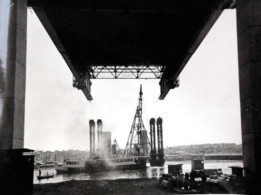Boğaz Köprüsü Böyle Yapıldı  9