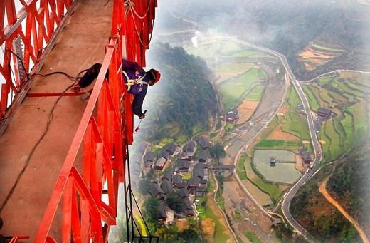 Dünyanın En Yüksek Asma Köprüsü 1