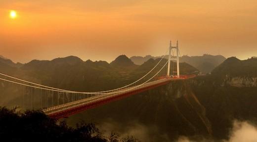 Dünyanın En Yüksek Asma Köprüsü 13