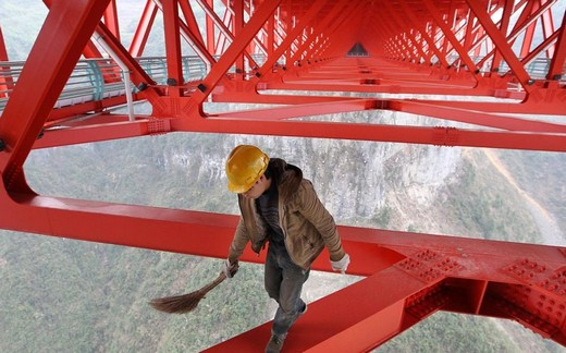 Dünyanın En Yüksek Asma Köprüsü 2