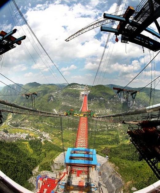 Dünyanın En Yüksek Asma Köprüsü 6